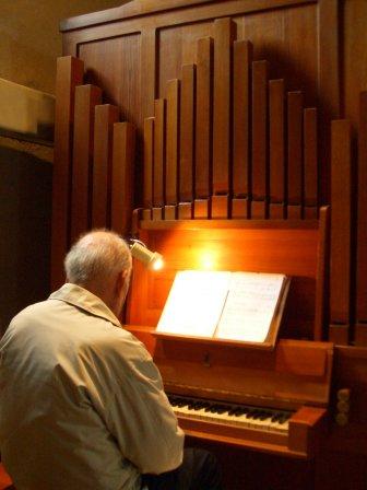 L'orgue en mélèze