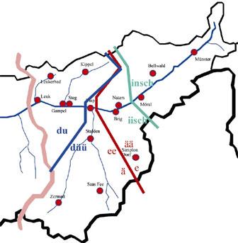 Grenzen im Walserdeutsch