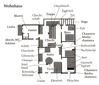 Grundriss Wohnhaus
