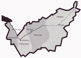 Kelten im Wallis