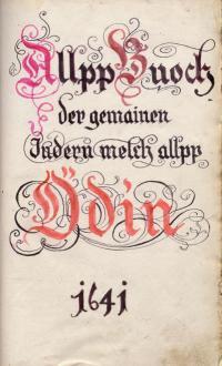 Alpbücher