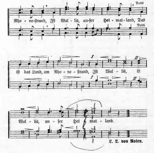 Walliser Hymne