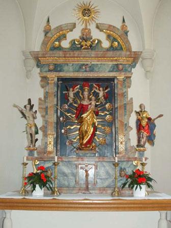 Altarbild Bonacker Kapelle