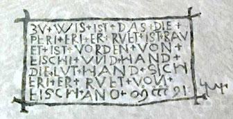 Tafel Mittelberg