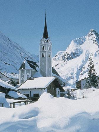 Kirche Galtür
