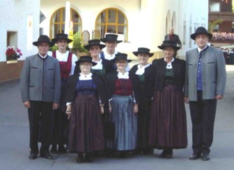 Tracht in Ebnit