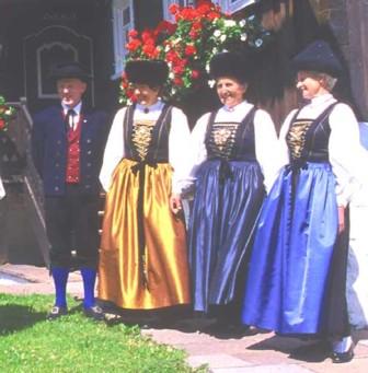 Tracht am Tannberg