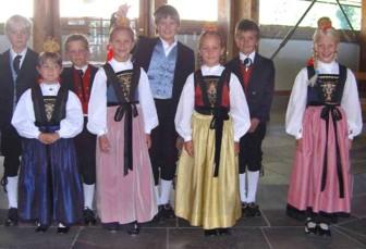 Kommunionkinder (Foto: Tiburt Fritz)