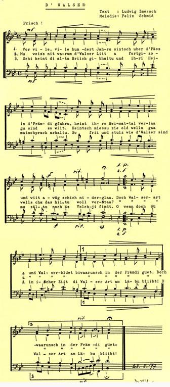 Lied der Walser