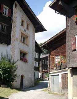 Mühlenbach im Wallis