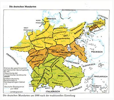 Deutsche Mundarten
