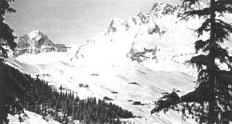 Oberlech historisches Bild