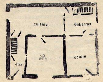 Plan de la maison.