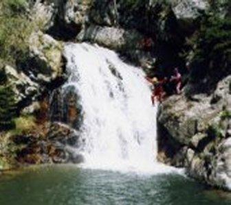 Wasserfall Vallorcine